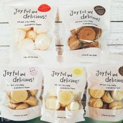 ブランド有精卵「さがみっこ」の卵白をメレンゲ菓子にしました。  たっぷり入って 各 ¥216